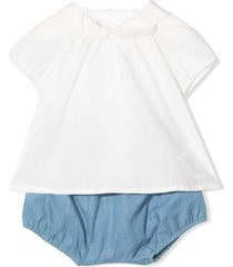 chloé top and shorts set