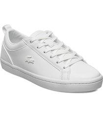 straightset 1201 cfa låga sneakers vit lacoste shoes