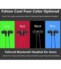 audífonos bluetooth deportivos inalámbricos, u6 inalámbrica audifonos bluetooth manos libres  4.1 auriculares estéreo moda deportiva corriendo auricular (azul)