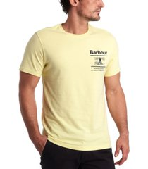 barbour men's chanonry logo t-shirt