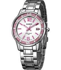 reloj casio ltp-1359d-4a-gris