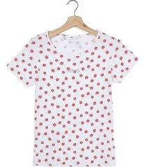 camiseta blanco-rojo-amarillo mng