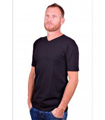 alan red t-shirt v-hals oklahoma black