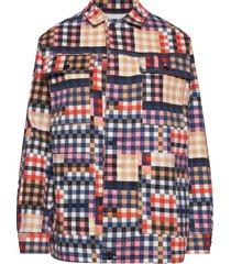locate overshirts multi/patroon munthe
