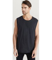linne raw edge tank top