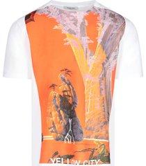 roger dean print t-shirt