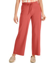 jm collection knit drawstring pants, created for macy's