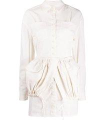 jacquemus la robe cueillette dress - neutrals