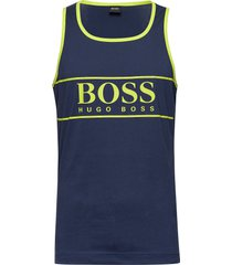 beach tank top t-shirts sleeveless blå boss
