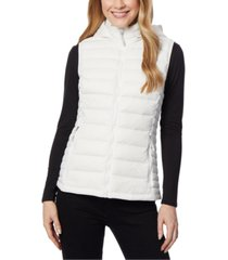 32 degrees packable hooded puffer vest, created for macy's