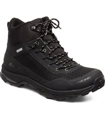 rask gtx m shoes sport shoes outdoor/hiking shoes svart viking