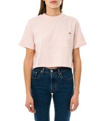 dickies t-shirt donna ss porterdale crop w dk0a4xdelpi