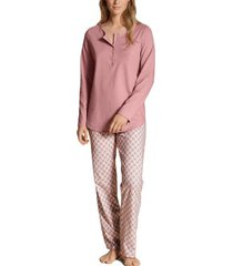 calida lovely nights pyjama button tab