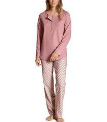 calida lovely nights pyjama button tab
