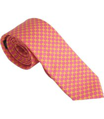 corbata hombre jaguar rosa