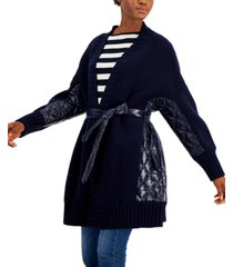 weekend max mara mixed quilt sahara cardigan jacket