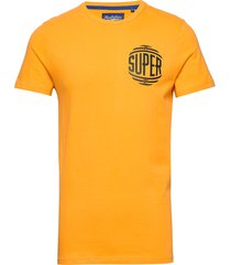 campus tee t-shirts short-sleeved gul superdry