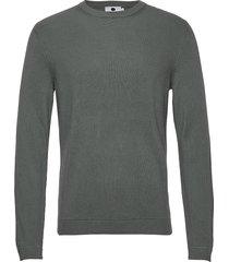 phil 6194 gebreide trui met ronde kraag groen nn07