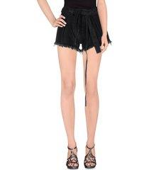 marques' almeida denim shorts