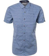blauw no excess 90460306-136 overhemd