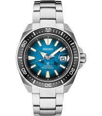 seiko men's automatic prospex manta ray diver stainless steel watch 44mm, a special edition