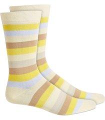 bar iii men's striped socks, created for macy's