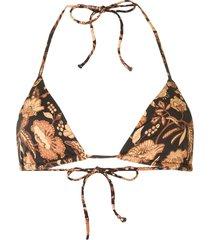 matteau string bikini top - multicolour