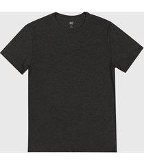 camiseta gris oscuro  gap