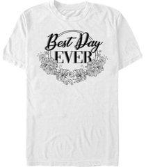 fifth sun men's best day ever short sleeve crew t-shirt