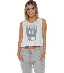camiseta esqueleto, color blanco para mujer