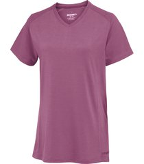 wolverine women's piper short sleeve tee orchid, size m