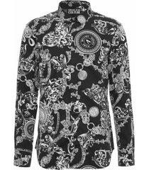barocco-printed shirt