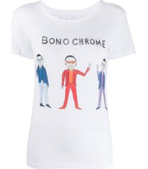 unfortunate portrait bono chrome t-shirt - white