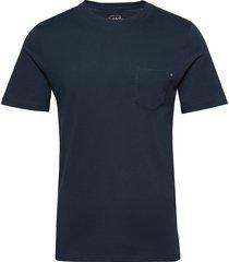 jjepocket tee ss o-neck noos t-shirts short-sleeved blå jack & j s