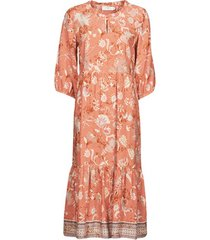 lange jurk cream johui dress