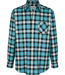 overhemd roger kent turquoise::marine
