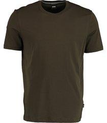 hugo boss t-shirt tiburt olijf rf 50379310/342