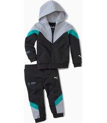 mercedes joggingpak, zwart, maat 98 | puma