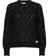 curious sweater gebreide trui zwart odd molly