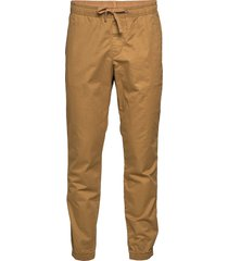 slim canvas joggers with gapflex casual byxor vardsgsbyxor brun gap