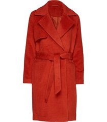 2nd livia outerwear coats wool coats rood 2ndday