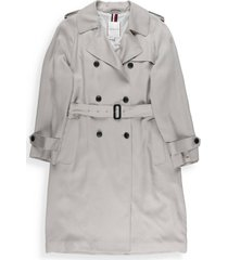tommy hilfiger double breasted raincoat with belt