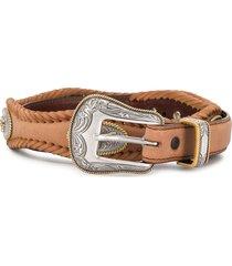 jessie western western style belt - brown