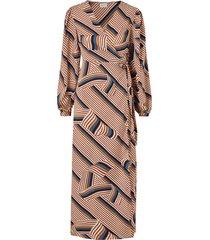 omlottklänning vidoletta graphic l/s dress