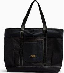 mens black tote backpack