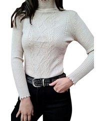 sweater básico beige mlk