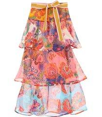 zimmermann lovestruck flounced skirt