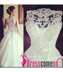 ball gown v neck white wedding dress,white wedding gown bridal brides dressre109