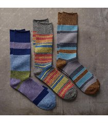 atticus socks, set of 3