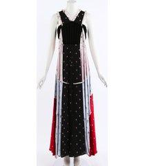 valentino 2018 floral silk velvet maxi dress